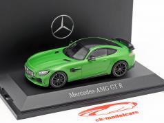 Mercedes-Benz AMG GT-R Coupé (C190) green hell magno 1:43 Norev