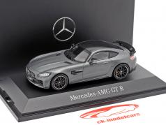 Mercedes-Benz AMG GT-R Coupe (C190) selenite grey magno 1:43 Norev