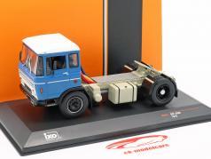 DAF 2600 camión año de construcción 1970 azul 1:43 Ixo