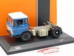 DAF 2600 lastbil Opførselsår 1970 blå 1:43 Ixo
