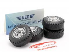 pneumatico e cerchioni Set Tuning cerchi in lega 1:18 Neo