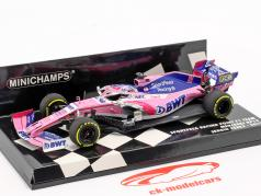 Sergio Perez Racing Point RP19 #11 formel 1 2019 1:43 Minichamps
