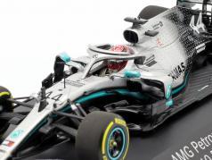 L. Hamilton Mercedes-AMG F1 W10 EQ #44 formula 1 campione del mondo 2019 1:43 Minichamps