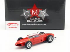 Ferrari 156 Sharknose Plain Body Edition 1961 rød 1:18 CMR