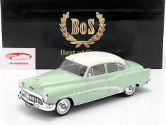Buick Special 4-Door Tourback Sedan year 1953 lime / white 1:18 BoS-Models