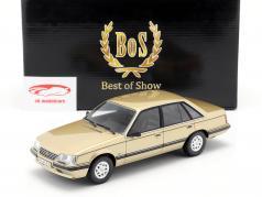 Opel Senator A2 3.0 CD Opførselsår 1984 beige metallisk 1:18 BoS Models / 2. valg