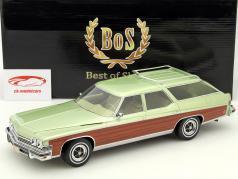 Buick Estate Wagon lime metallisk 1:18 BoS-Models / 2. valg