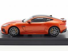 Jaguar F-Type SVR 轿跑车 建造年份 2016 火沙 金属的 1:43 TrueScale