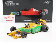 M. Schumacher Benetton B192 #19 1st Win Belgian GP formula 1 1992 1:18 Minichamps