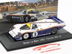 Porsche 956 LH #3 Vencedor 24h LeMans 1983 Schuppan, Holbert, Haywood 1:43 Spark