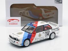 BMW M3 (E30) #14 gagnant Norisring DTM 1992 Joachim Winkelhock 1:18 Solido