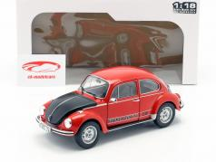 Volkswagen VW Käfer 1303 World Cup Edition 1974 rot / schwarz 1:18 Solido