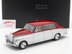 Rolls Royce Phantom VI silver / red 1:18 Kyosho