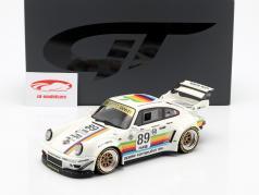Porsche 911 (964) RWB Body Kit #89 hvid 1:18 GT-Spirit
