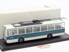 Skoda-14TR O-Bus Eberswalde wit / donkergroen 1:43 Premium ClassiXXS