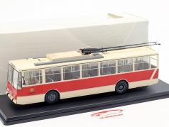 Skoda-14TR O-Bus Potsdam beige / rood 1:43 Premium ClassiXXS