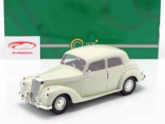 Mercedes-Benz 220 (W187) sedan Bouwjaar 1953 crème wit 1:18 Cult Scale