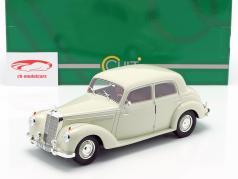 Mercedes-Benz 220 (W187) sedán año de construcción 1953 crema blanco 1:18 Cult Scale