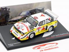 Audi Quattro Sport E2 Rallye San Remo 1985 W. Röhrl, C. Geistdörfer 1:43 Altaya