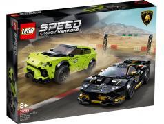 LEGO® Speed campeones Lamborghini Urus ST-X & Lamborghini Huracan Super Trofeo EVO
