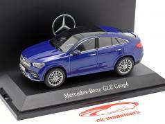 Mercedes-Benz GLE Coupe C167 brillant bleu 1:43 iScale