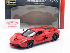 Ferrari LaFerrari vermelho 1:18 Bburago