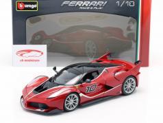Ferrari FXX-K #10 红 / 黑 1:18 Bburago