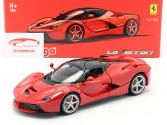 Ferrari LaFerrari vermelho 1:18 Bburago Signature