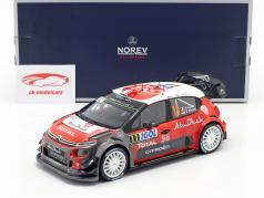 Citroen C3 WRC 2018 #11 Tour de Corse 2018 Loeb, Elena 1:18 Norev