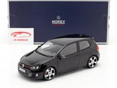 Volkswagen VW Golf VI GTI anno di costruzione 2009 nero 1:18 Norev