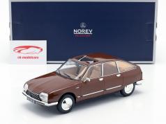 Citroen GS Pallas année de construction 1978 brun 1:18 Norev