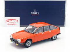 Citroen GS X2 year 1978 ibiza orange 1:18 Norev