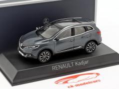 Renault Kadjar Opførselsår 2015 titan grå 1:43 Norev