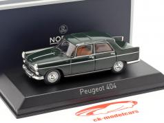 Peugeot 404 Baujahr 1965 antik grün 1:43 Norev