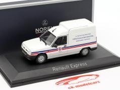 Renault Express année de construction 1995 gendarmerie blanc 1:43 Norev