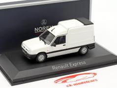 Renault Express Bouwjaar 1995 ijs wit 1:43 Norev