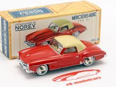 Mercedes-Benz 190 SL Baujahr 1956 rot / elfenbein 1:43 Norev