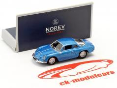 Alpine A110 ano de construção 1973 azul metálico 1:87 Norev