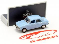 Peugeot 204 year 1966 blue 1:87 Norev