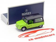 Citroen Mehari Bouwjaar 1983 groen 1:87 Norev