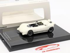 Porsche 909 Bergspyder apresentação Hockenheim branco 1:43 Norev