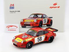 Porsche 911 Carrera RSR #58 24h LeMans 1975 Gelo Racing Team 1:18 Spark / 2. Wahl