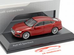 Audi A5 Sportback 築 2017 マタドール 赤 1:43 Spark