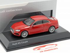 Audi A5 Coupe タンゴ 赤 1:43 Spark