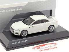 Audi A5 Coupe 氷河 ホワイト 1:43 Spark