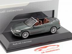 Audi A5 Cabriolet 築 2017 ゴットランド島の緑 1:43 Spark