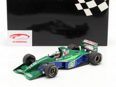 M. Schumacher Jordan 191 #32 F1 début belge GP Spa 1991 1:18 Minichamps