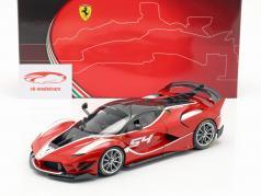 Ferrari FXX-K Evo #54 año de construcción 2017 corsa rojo 1:18 BBR