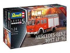 Mercedes-Benz 1017 LF 16 fire department Kit 1:24 Revell