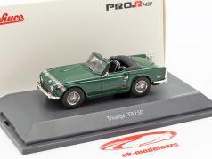 Triumph TR250 british racing grøn 1:43 Schuco